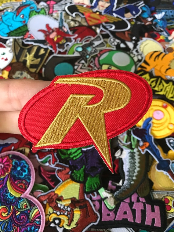 Robin Emblem Batman Iron On Sew On Embroidered Patch Custom