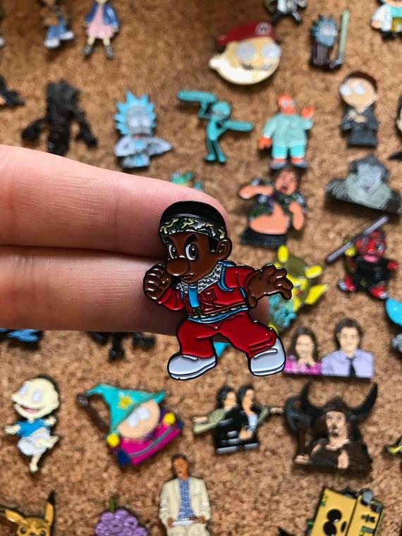 Stranger Things Lucas Cartoon Custom Enamel Pin Pin Pins | Etsy