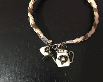 Tea Time Woven Bracelet