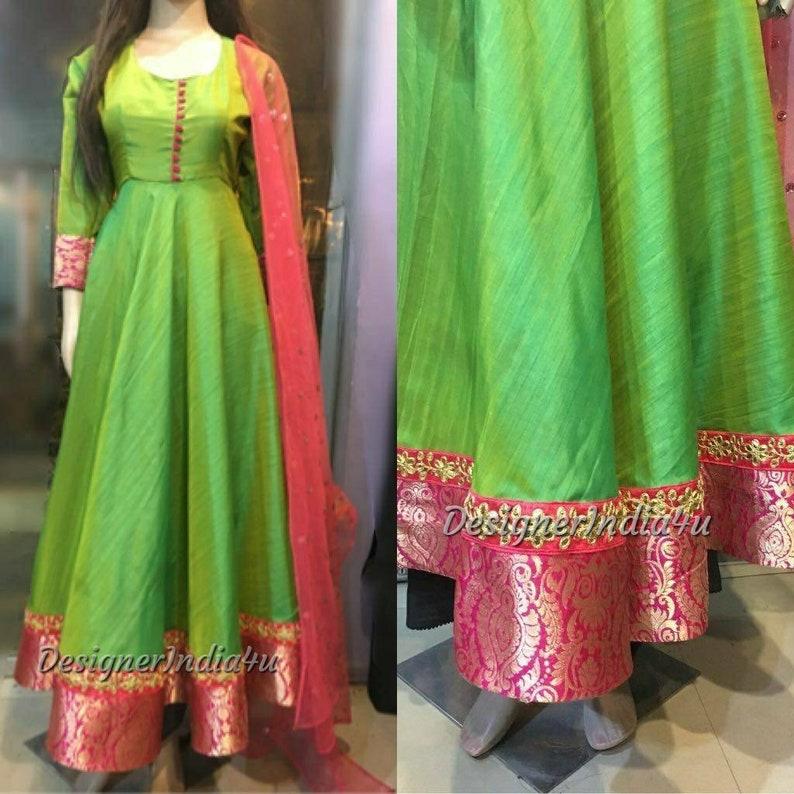 70cb8f81ac3 Anarkali Salwar Kameez Suit Dupatta Indian Pakistani designer