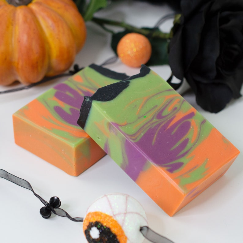 Vegan Handcrafted Soap  Hallow's End image 0