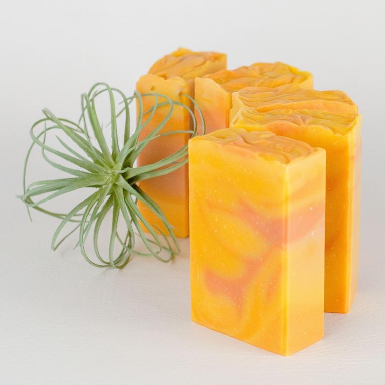 Handcrafted Bar Soap  Sunrise  Energizing Fragrances  image 0