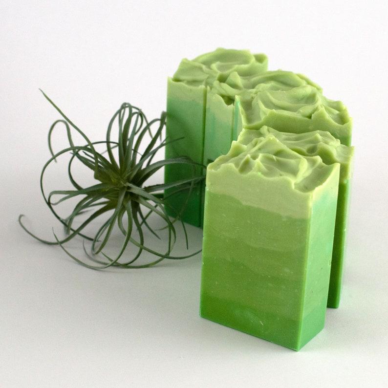 Handmade Vegan Soap  Rainforest image 0
