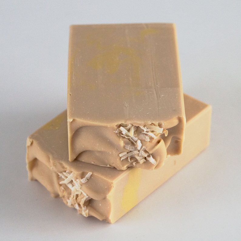 Pina Colada Handcrafted Vegan Soap image 0