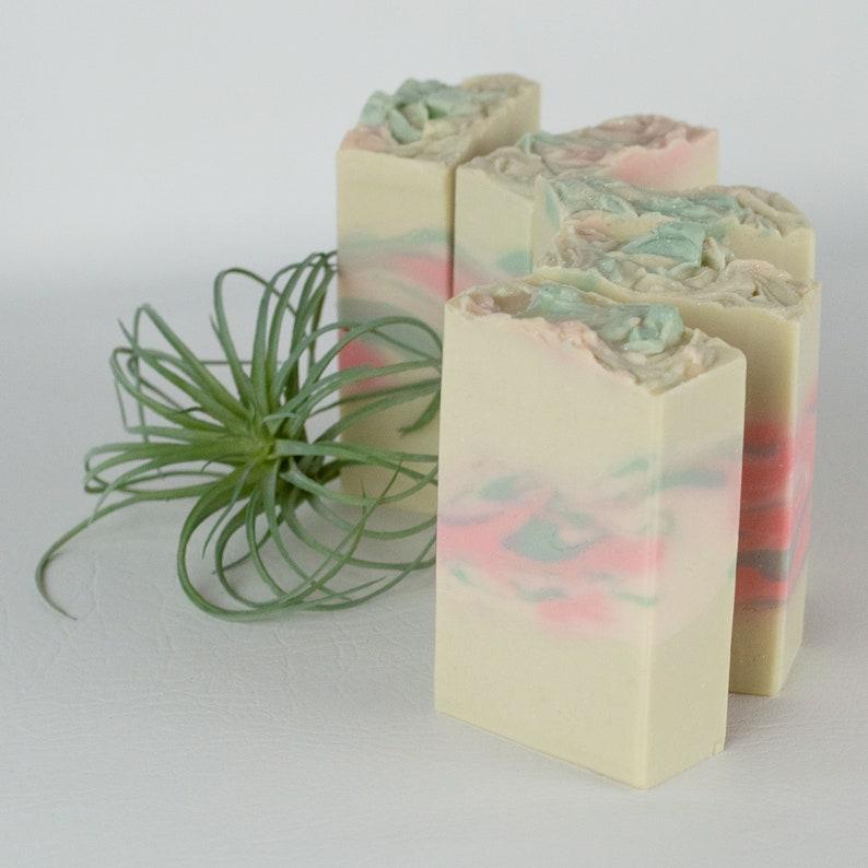 Sweet Honeysuckle Handmade Vegan Soap image 0
