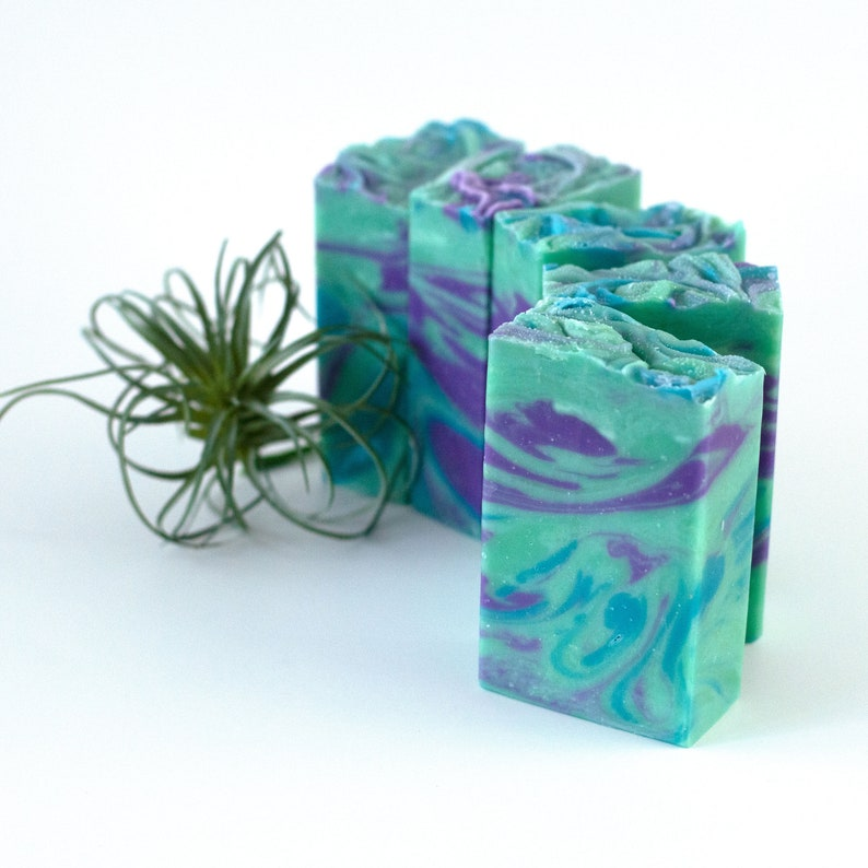 Seaberry Handcrafted Vegan Soap  Ocean Beach Scented Soap image 0