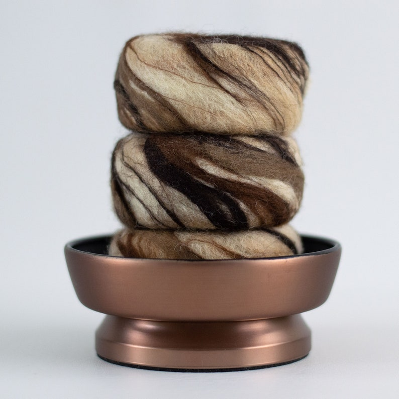 Wool Felted Soap  Cinnamon Vanilla  New Home Moving Gift image 0