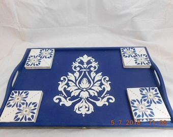 Up Cycled Wooden Serving Tray