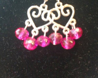 Hearts and Pink beads