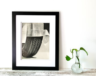 """Original 10x13"""" Sears Steel Radial Tire Ad  