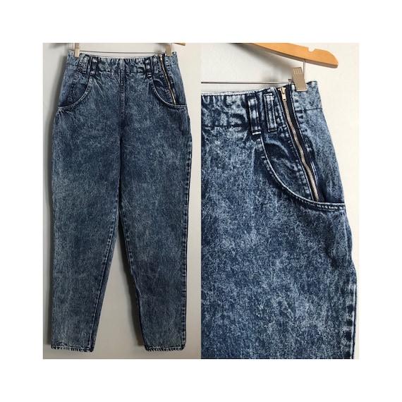 Vintage Brittania Acid Wash Jeans