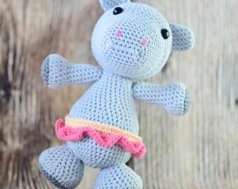 READY TO SHIP, Crochet Hippo, Amigurumi Toy, Crochet Toy, Newborn gift, Stuffed Toys