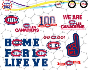 Montreal Canadiens svg,png,dxf/Montreal Canadiens clipart for Print/Design/Cricut/Silhouette and any more