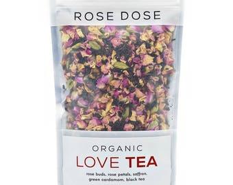 Organic Loose Leaf Herbal Tea - Love Tea