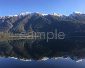 Lake monawai New Zealand
