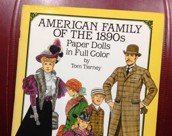 American Family of the 1890s Paper Dolls