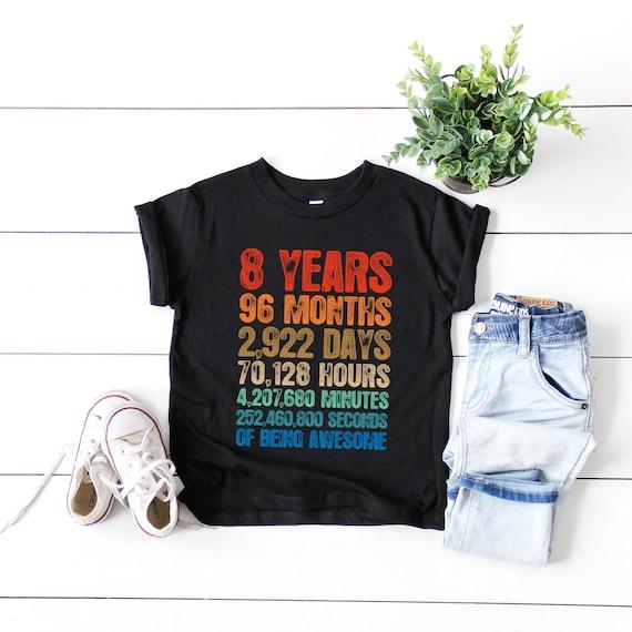 Dreamcatcher 8th Birthday Boho 8th Birthday Shirt Toddler Girls 8th Birthday Hoodie Eight Hoodie 8th Birthday Long Sleeve Tee