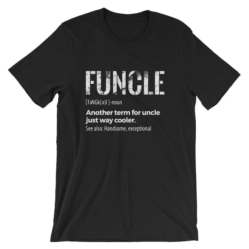 842f1934 Funcle Definition Tshirt Uncle Shirt Funny Uncle Shirt Gift | Etsy