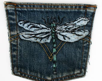 Dragonfly pocket/patch