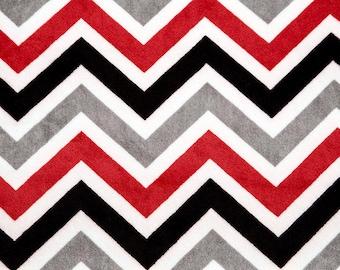 Zig Zag Cuddle® Red/Black/Snow