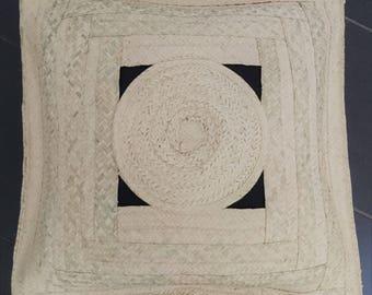handmade Palm cushion