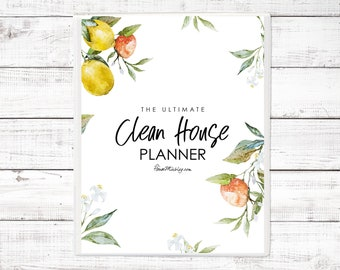 The Ultimate Clean House Planner
