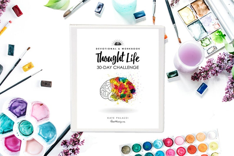 Thought Life 30-Day Challenge Devotional and Workbook: Bible image 0
