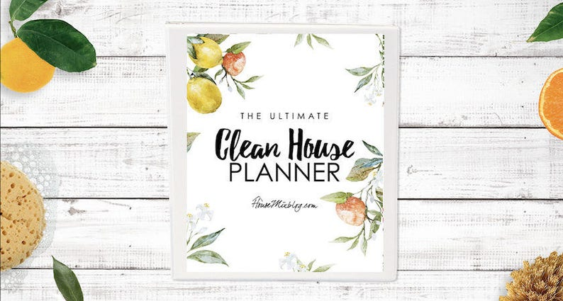 The Ultimate Clean House Planner image 0