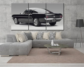 Shelby canvas, Shelby Mustang, Ford Mustang canvas, Ford Mustang, Shelby canvas, Mustang canvas, Shelby print, Shelby wall art, Shelby
