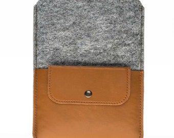 Leather Tablet Case, iPad Case, Tablet Sleeve, Tablet Accessory, Tablet Bag, Tablet Organizer, Electronic Case, Personalized