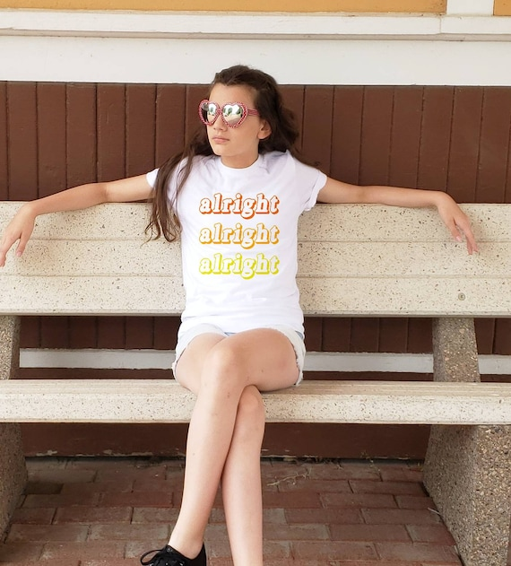 ALRIGHT ALRIGHT UNOFFICIAL DAZED /& CONFUSED UNOFFICIAL BABY GROW BABYGROW GIFT