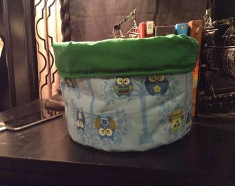 Custom fabric basket