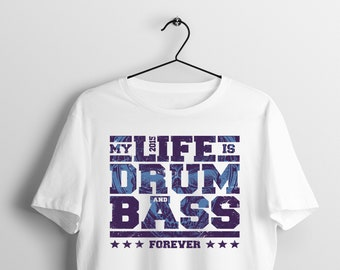 f55a9719 Drum and bass rock t shirt, band t shirts, musically t shirt, rock tees, rock  and roll tshirt, concert t shirts, music tees, drummer gift