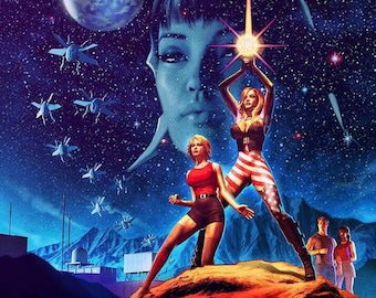 "Patriotika In the Stars 11x17"" Print"