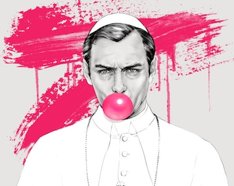 The Young Pope | Jude Law | Lenny Bellardo | Art Print | Poster