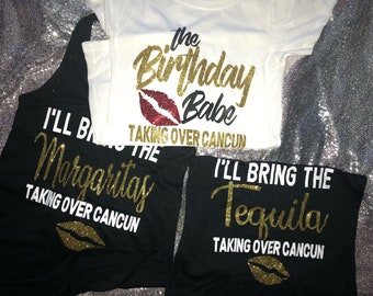 Front Only Birthday Babe ShirtBirthday Shirts For Women