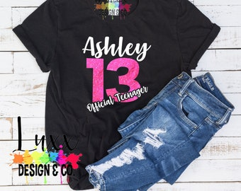 Girl Birthday Shirt