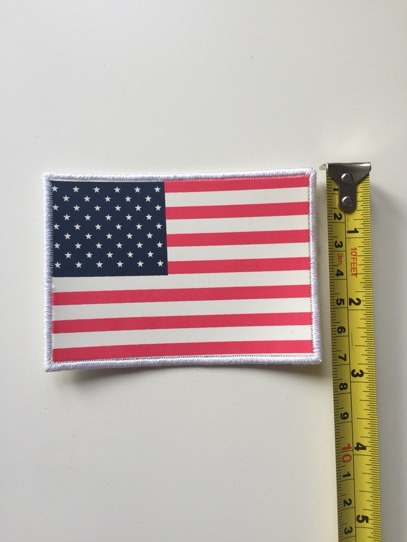 4e18937744ebc Supreme x The North Face American flag 3m Badge Patch Jackets Fleece sew  on/glue
