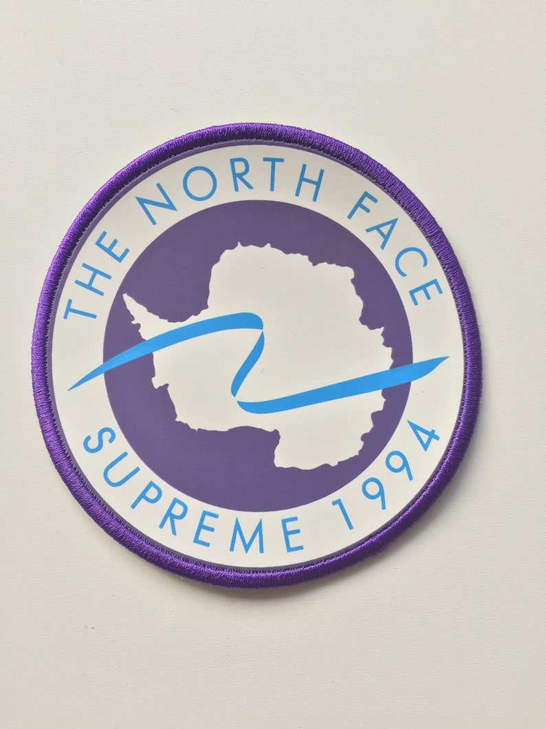 e53098fac6b70 Supreme x The North Face Trans-Antarctic Badge for Jacket Backpack Fleece  patch