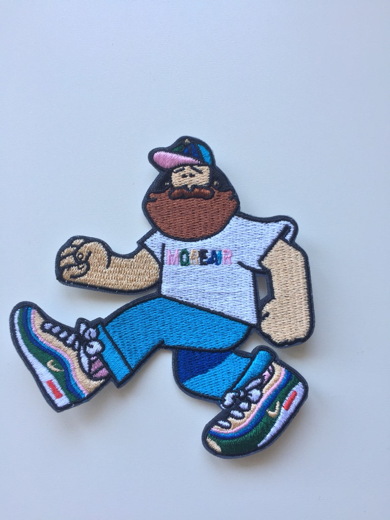 new arrival 9915a 5441d Nike Sean Wotherspoon cartoon iron on Patch Badge Air max lot