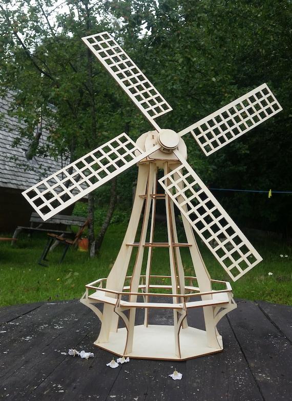 Wonderbaar Windmill Kit Hollandse molen tuin decor houten molen | Etsy NY-04