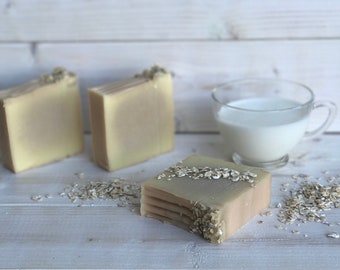 Oatmeal, Milk, and Honey Soap