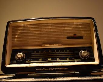 Nordmende Turandot vintage tube radio
