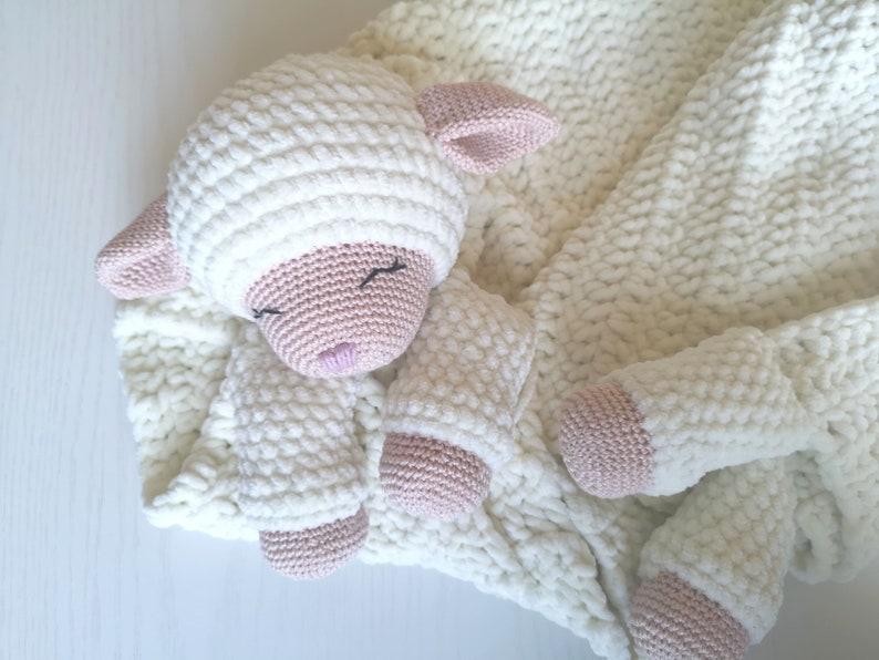 Crochet pattern crochet baby blanket crochet blanket with image 0