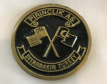 USAF Commemorative Medallion, Pirinçlik, Turkey Challenge Coin