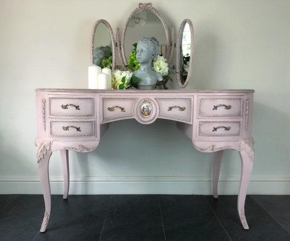 Elegant vintage Olympus Dressing table with mirror