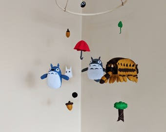 My Neighbor Totoro Baby Mobile - Nursery Decor - Totoro Baby
