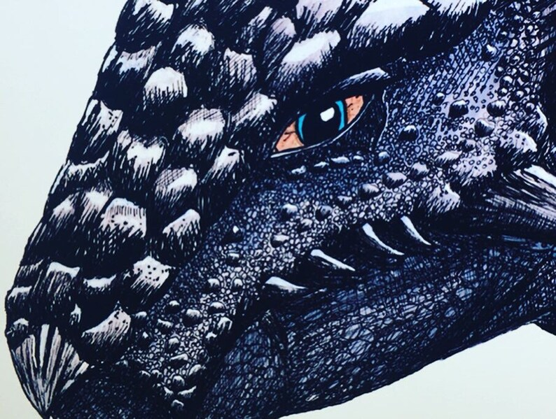 Ankylosaurus PRINT dinosaur paleontology Jurassic Park Jurassic World  Fallen Kingdom armored lizard ink drawing illustration detailed