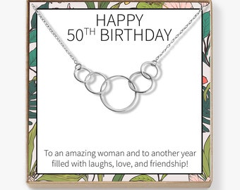 Gifts For Women Turning 50 Necklace