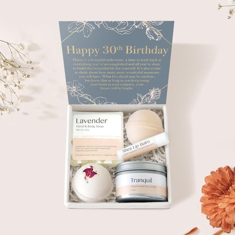 30th Birthday Spa Gift Box